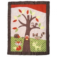 Forest Friends 9 Piece Baby Crib Bedding Set by Sweet Jojo Designs - Alt Image 1 - jjd1035bed9 - Type 1