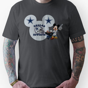 Dallas Cowboys Mickey Mouse fan Unisex T-Shirt