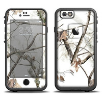 The Real Winter Camouflage Apple iPhone 6 LifeProof Fre Case Skin Set (Other Models Available!)