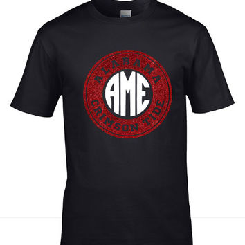 Alabama Gameday shirt -Circle Monogram