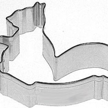 "3"" SQUIRREL Cookie Cutter fall, autumn, dog bone"