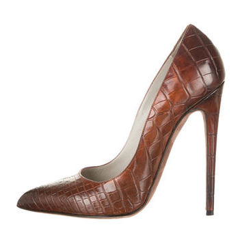 Tom Ford Alligator Pumps