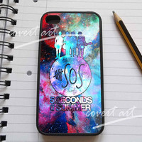 5 seconds of summer in galaxy  for iPhone 4 / 4S / 5 Case Samsung Galaxy S3 / S4 Case