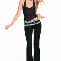 Bling Bootcut Yoga Pant - PINK - Victoria's Secret