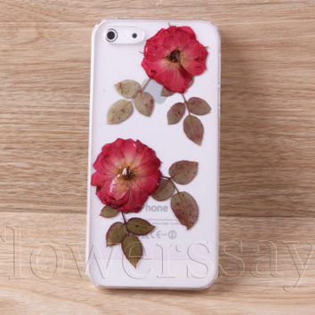 iPhone 6 case iPhone 6 plus Pressed Flower, iPhone 5/5s case, iPhone 4/4s case,  5c case Galaxy S4 S5 Note 2 note 3 Real Flower case NO:F103