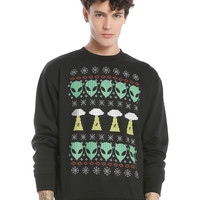 Alien Fair Isle Crewneck Sweatshirt