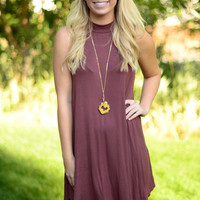 Marvelous Mauve Dress