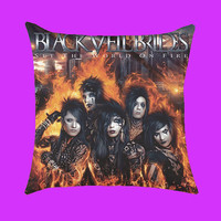 Black Veil Brides Set The World On Fire - Pillow Case, Rectangle Pillow One Side/Two Sides.