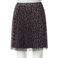 ELLE™ Pleated Lace Skirt - Women's