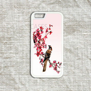 Bird iPhone 5s Case Bird iPhone 5c Case Floral iPhone 5 5s Case Floral iPhone Cases iPhone4 4s Case Vintage Print Retro Hummingbird