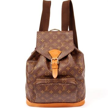 Louis Vuitton Montsouris Backpack GM 5452 (Authentic Pre-owned)