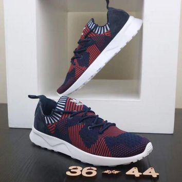 Adidas ZX Flux ADV Virtue. Red & Dark Blue Unisex Running Shoes Sneakers