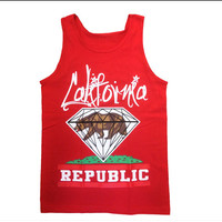 California Republic Tank Tops by NinasTadbits on Etsy