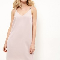 Pink Cami Slip Dress