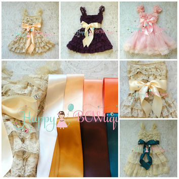 Dress Sash/ Ribbon Sash