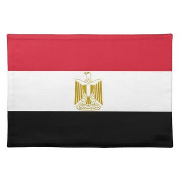 Egyptian Flag on MoJo Placemat