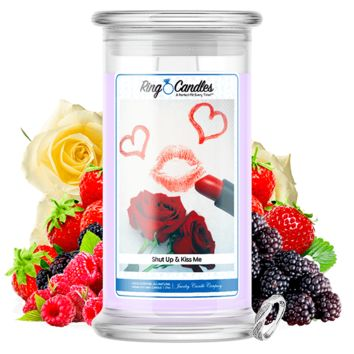 Shut Up & Kiss Me | Ring Candle®