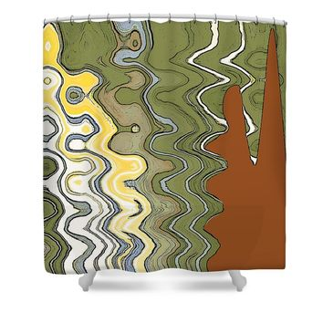 Fantasy Landscape Shower Curtain for Sale by Ben and Raisa Gertsberg