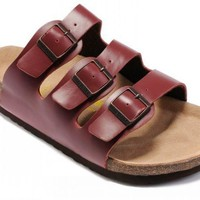 Birkenstock Florida Sandals Dark-red
