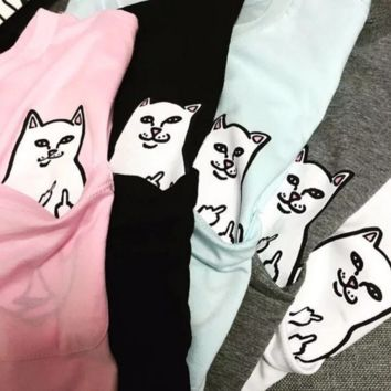 RIPNDIP hot sale fashion five color Men and women lovers short sleeve T-shirt