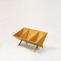 Rare Bruno Mathsson Book Crib, Sweden, 1960s.