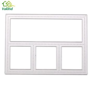 Metal Frame Memory Box Cutting Dies DIY Scrapbooking Diary Card Hand Craft Scrapbooking & Stamping Supplies