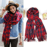 Chic Lady Tassel Sunblock Casual Scarf