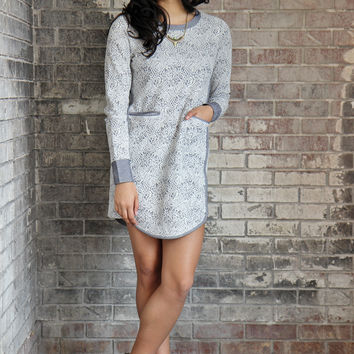 BCBG Sweater Tunic Dress
