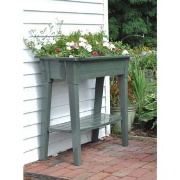 36 in. Garden Planter in Sage, 9303-01-3700 at The Home Depot - Mobile