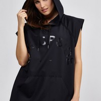 The Black Recovery Hoodie in Black by The Upside | Tops | BANDIER
