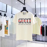 NEW 100% Authentic gucci 2018ss fashion t shirt  ※005