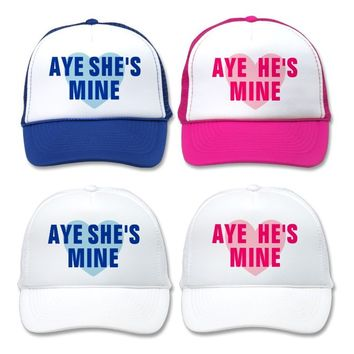 Aye She's Mine Hat from Zazzle.com