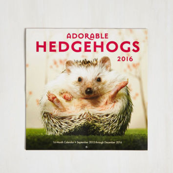 Critters A Prickle in Time 2016 Wall Calendar by ModCloth