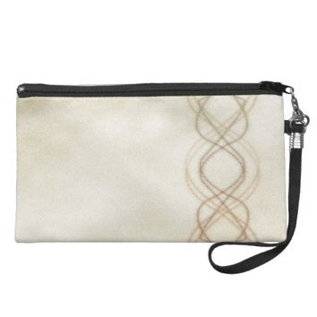 Gold Lights Wristlet