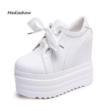 Womens High Heels Casual Wedges platform shoes