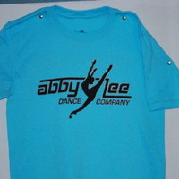 Neon Blue ALDC T Shirt | The Abby Lee Dance Company