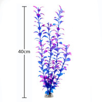 Hot New Durable Lovely Green 40cm Artificial Simulation Water Plants for Fish Tank Aquarium Decor accessories Acuarios