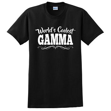 World's coolest gamma Mother's day birthday gift ideas for new grandma proud grandmom gifts for her T Shirt