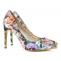 Metal tip printed court - LUCEEY - Ted Baker
