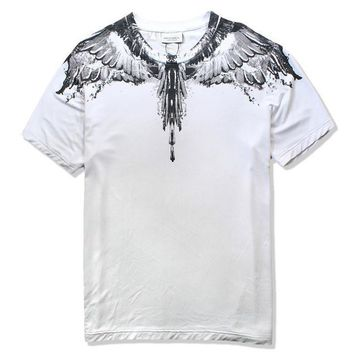 ca auguau Marcelo Burlon T-Shirts County of Milan Wings Feathers