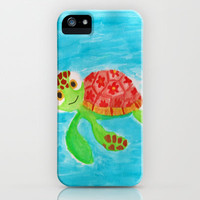 Squirt From Nemo  iPhone & iPod Case by Kayla Gordon