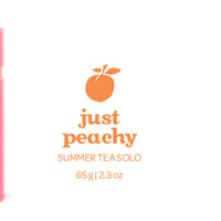 Just Peachy Tea Solo - This Fruity Iced Tea Is Packed With The Juicy Flavour Of Ripe Summer Peaches | DavidsTea
