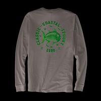 Classic Coastal Spooky Glow in the Dark Long Sleeve T-Shirt in Classic White by Southern Tide - FINAL SALE