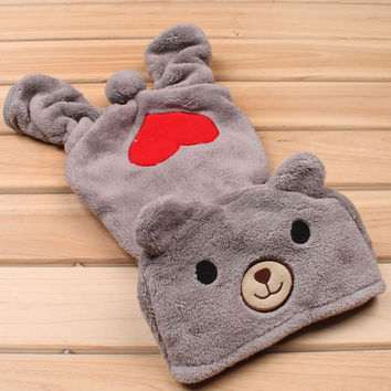 Nice Teddy Bear Love Pet Clothes