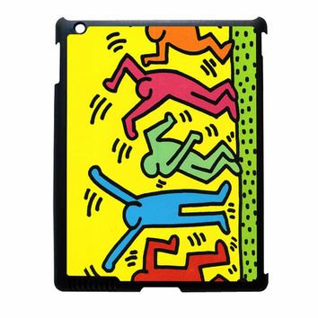 Keith Haring Pop Art Iphone Leaftunes iPad 4 Case