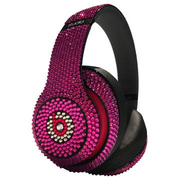 Swarovski Crystal Beats By Dre Studio Bling Headphones