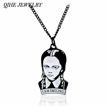 Wednesday Addams Adams Necklace The Addams Family