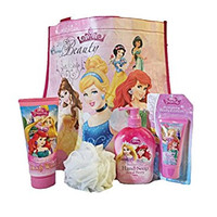 Disney Princess Bath and Beauty Set with Gift Tote Bag