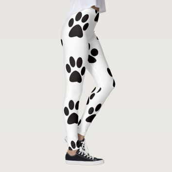Cat Paw Prints Leggings
