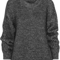 Belstaff Rorrington oversized cotton-blend sweater – 60% at THE OUTNET.COM